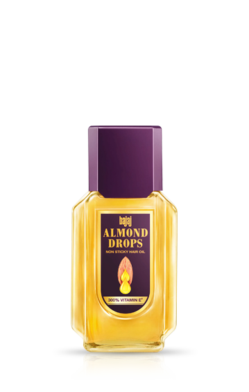 Bajaj Almond Drops Hair Oil 100 ml Bottle