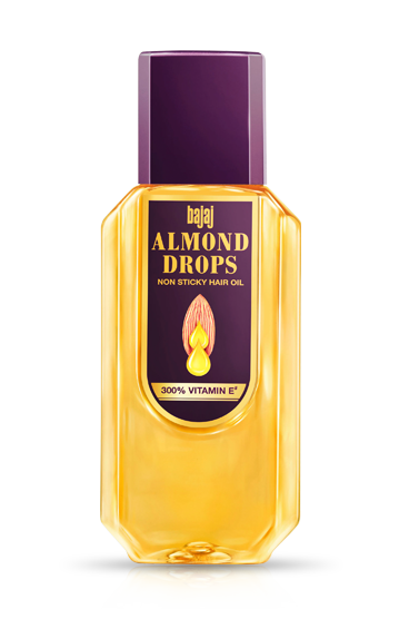 Bajaj Almond Drops Hair Oil 300 ml Bottle